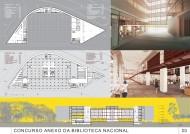 Concurso Anexo da Biblioteca Nacional - Segundo Lugar - Prancha 3