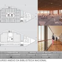 Concurso Anexo da Biblioteca Nacional - Segundo Lugar - Prancha 4