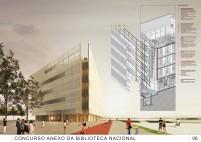 Concurso Anexo da Biblioteca Nacional - Segundo Lugar - Prancha 5