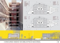 Concurso Anexo da Biblioteca Nacional - Segundo Lugar - Prancha 6