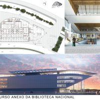 Concurso Anexo da Biblioteca Nacional - Terceiro Lugar - Prancha 3
