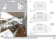 Concurso Anexo da Biblioteca Nacional - Terceiro Lugar - Prancha 4