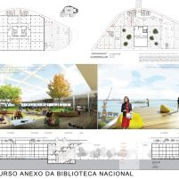 Concurso Anexo da Biblioteca Nacional - Terceiro Lugar - Prancha 5