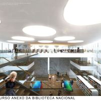 Concurso Anexo da Biblioteca Nacional - Terceiro Lugar - Prancha 6
