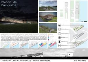 Concurso de Ideias – Infopoint da Pampulha - Segundo Lugar - Prancha 1