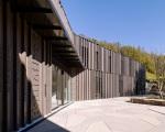 Bauzeit Architectes, Bienne.  Bibliothèque ludothèque de Spiez