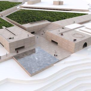 Concurso – Bamiyan Cultural Centre - Primeiro Lugar - Imagem 1