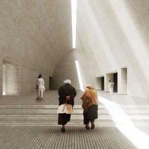 Concurso – Bamiyan Cultural Centre - Primeiro Lugar - Imagem 2