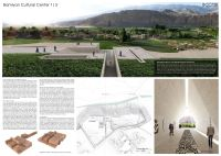 Concurso – Bamiyan Cultural Centre - Primeiro Lugar - Prancha 1