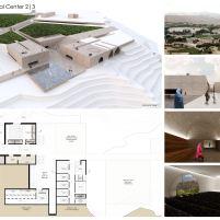 Concurso – Bamiyan Cultural Centre - Primeiro Lugar - Prancha 2