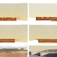 Concurso – Bamiyan Cultural Centre - Segundo Lugar - Prancha 3