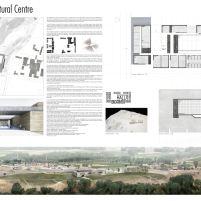 Concurso – Bamiyan Cultural Centre - Segundo Lugar - Prancha 1