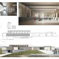 Concurso – Bamiyan Cultural Centre - Segundo Lugar - Prancha 2