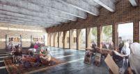 Concurso – Bamiyan Cultural Centre - Segundo Lugar - Imagem 3