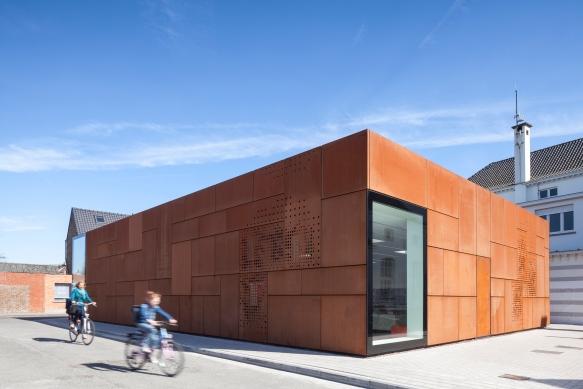Studio Farris Architects - City Library Bruges - 08 (©Tim Van de Velde)