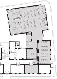 Studio Farris Architects - City Library Bruges -Planta Baixa