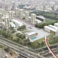 Concurso - Operação Urbana Consorciada Água Branca - Menção Honrosa - Imagem 1