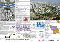Concurso - Operação Urbana Consorciada Água Branca - Menção Honrosa - Prancha 1