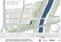 Concurso - Operação Urbana Consorciada Água Branca - Segundo Lugar - Prancha 2