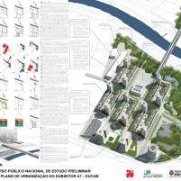 Concurso - Operação Urbana Consorciada Água Branca - Segundo Lugar - Prancha1