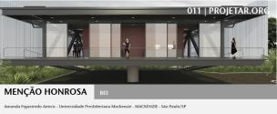 Concurso 011 Projetar.org - Menção Honrosa 2 - Imagem 1