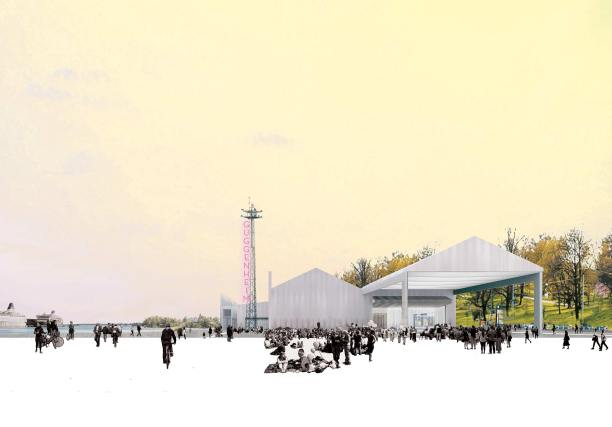 Concurso Museu Guggenheim Helsinki - Finalista - Fake Industries - Imagem 1