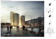 Concurso Museu Guggenheim Helsinki - Finalista - HCZ STUDIO2050 - Prancha 1