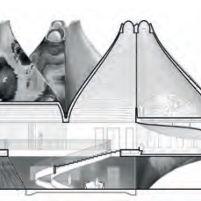 Concurso Bauhaus Museum Dessau - 2º Fase - Primeiros Lugares - Corte