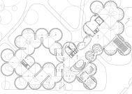 Concurso Bauhaus Museum Dessau - 2º Fase - Primeiros Lugares - Planta Pavimento Principal
