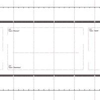Concurso Bauhaus Museum Dessau - 2º Fase - Primeiros Lugares - Planta Segundo Pavimento