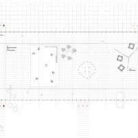 Concurso Bauhaus Museum Dessau - 2º Fase - Primeiros Lugares - Planta Térreo