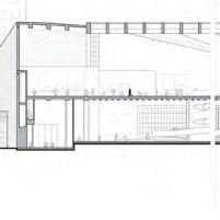 Concurso Bauhaus Museum Dessau - 2º Fase - Quarto Lugar - Corte