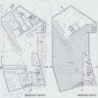 Concurso Bauhaus Museum Dessau - 2º Fase - Quarto Lugar - Plantas