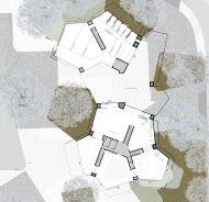 Concurso Bauhaus Museum Dessau - 2º Fase - Terceiro Lugar - Planta Térreo