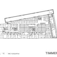 Timmerhuis - OMA - Rotterdam - Planta Baixa 5º Pavimento