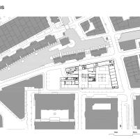 Timmerhuis - OMA - Rotterdam - Implantação
