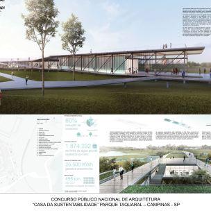 Premiados Casa da Sustentabilidade - Primeiro Lugar - Prancha 1