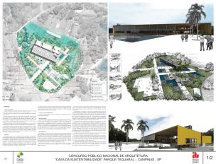 Premiados Casa da Sustentabilidade - Segundo Lugar - Prancha 1