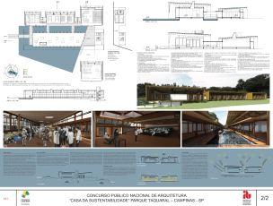 Premiados Casa da Sustentabilidade - Segundo Lugar - Prancha 2
