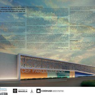 Premiados - Concurso CEF - CODHAB - Menção Honrosa com Destaque - Prancha 01