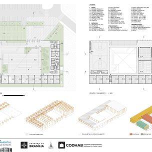 Premiados - Concurso CEF - CODHAB - Terceiro Lugar - Prancha 02