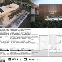 Premiados - Concurso CEF - CODHAB - Terceiro Lugar - Prancha 04