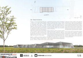 Premiados - Concurso UBS - CODHAB -Menção Honrosa - Prancha 01