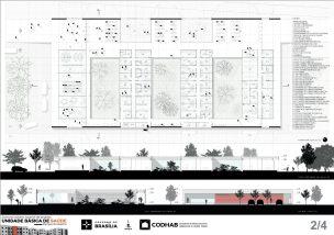 Premiados - Concurso UBS - CODHAB -Menção Honrosa - Prancha 02