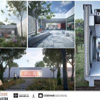 Premiados - Concurso UBS - CODHAB -Menção Honrosa - Prancha 04