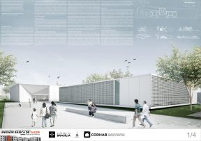 Premiados - Concurso UBS - CODHAB - Primeiro Lugar - Prancha 01