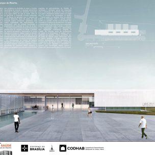 Premiados - Concurso UBS - CODHAB -Segundo Lugar - Prancha 01