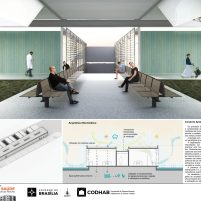 Premiados - Concurso UBS - CODHAB -Segundo Lugar - Prancha 04