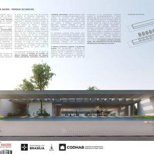 Premiados - Concurso UBS - CODHAB -Terceiro Lugar - Prancha 01