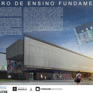 Premiados - Concurso CEF - CODHAB - Menção Honrosa - Prancha 01